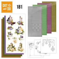 DODO181 - Dot and Do 181 - Precious Marieke - A Touch of Christmas - Candles