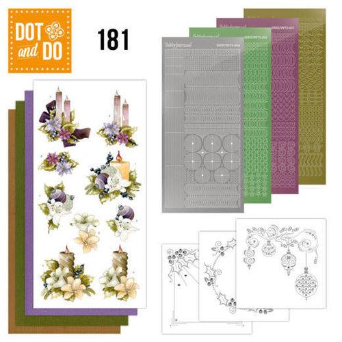 Dot en Do DODO181 - Dot and Do 181 - Precious Marieke - A Touch of Christmas - Candles