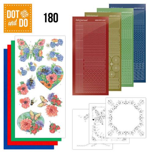 Dot en Do DODO180 - Dot and Do 180 - Summer Flowers