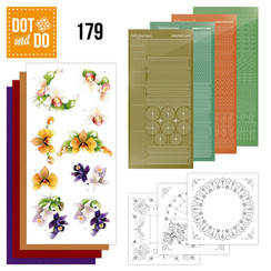 DODO179 - Dot and Do 179 - Precious Marieke - Delicate Flowers - Orchid