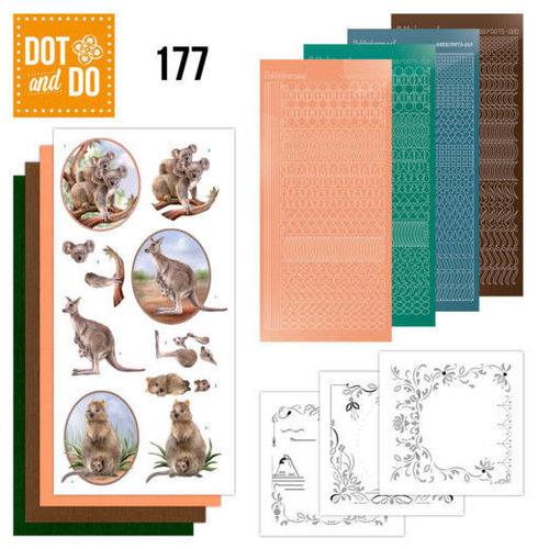 Dot en Do DODO177 - Dot and Do 177 Amy Design Wild Animals
