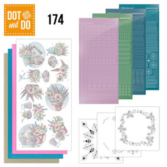 DODO174 - Dot and Do 174 - Yvonne Creations - Flowers in Pastel