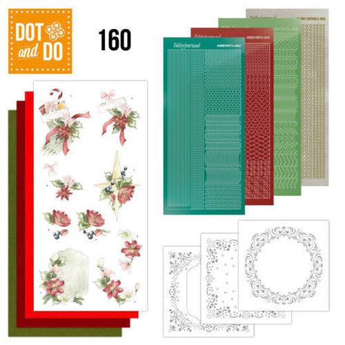 Dot en Do DODO160 - Dot and Do 160 Red Christmas Ornaments