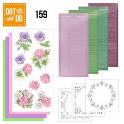DODO159 - Dot and Do 159 Summer Flowers