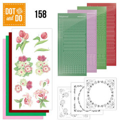 DODO158 - Dot and Do 158 Red Flowers