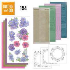 DODO154 - Dot and Do 154 Purple Flowers