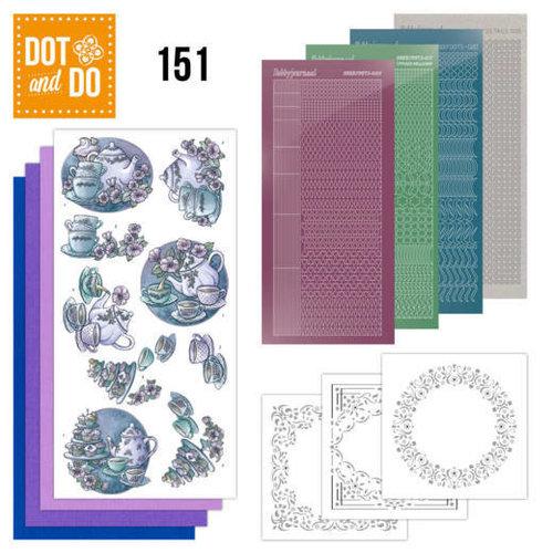 Dot en Do DODO151 - Dot and Do 151 Tea Time