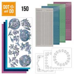 DODO150 - Dot and Do 150 Birds in Purple