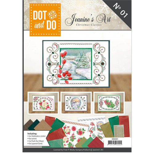 Dot en Do DODOA6001 - Dot and Do Book - Jeanine's Art - Christmas Classics