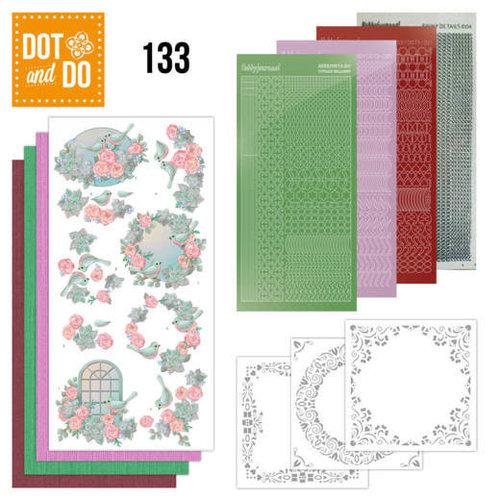 Dot en Do DODO133 - Dot and Do 133 - Birds and Roses