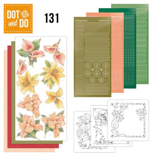 Dot en Do DODO131 - Dot and Do 131 - Yellow Flowers