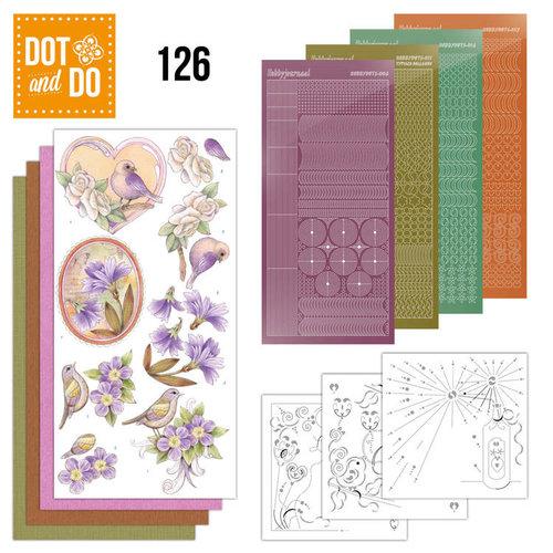 Dot en Do DODO126 - Dot and Do 126 - Vintage Flowers