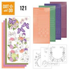 DODO121 - Dot and Do 121 - Jeanine`s Art - Vlinders en Bloemen