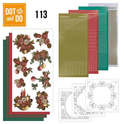 Dot en Do DODO113 - Dot and Do 113- Christmas Flowers