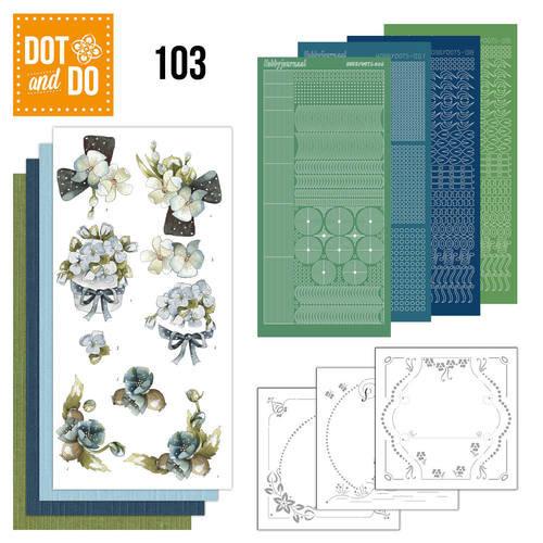 Dot en Do DODO103 - Dot and Do 103 - Fantastic flowers