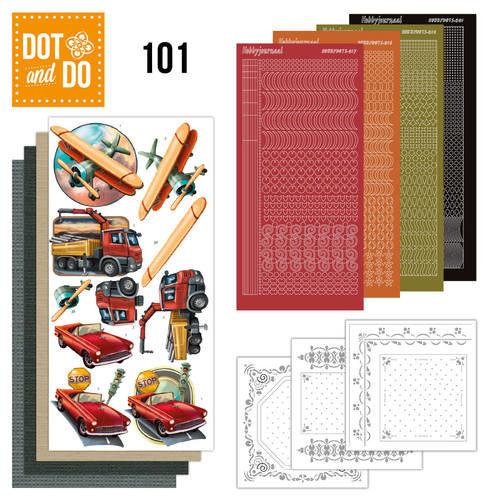 Dot en Do DODO101 - Dot and Do 101 - Vintage Vehicles