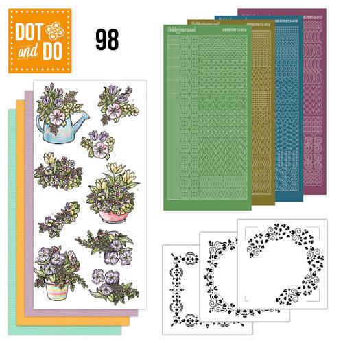 Dot en Do DODO098 - Dot and Do 98 - Voorjaarsboeketjes