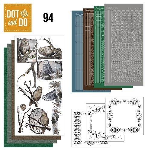 Dot en Do DODO094 - Dot and Do 94 - Winter uilen