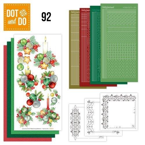 Dot en Do DODO092 - Dot and Do 92 - Kerstkaarsen