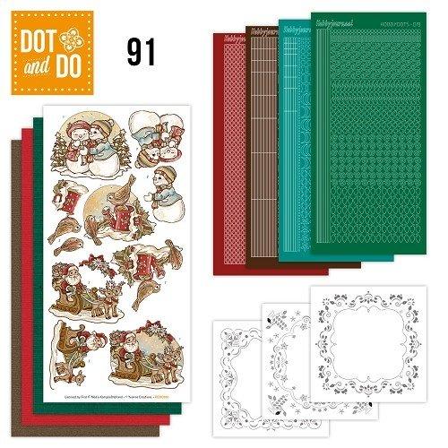 Dot en Do DODO091 - Dot and Do 91 - Holly Jolly Mix