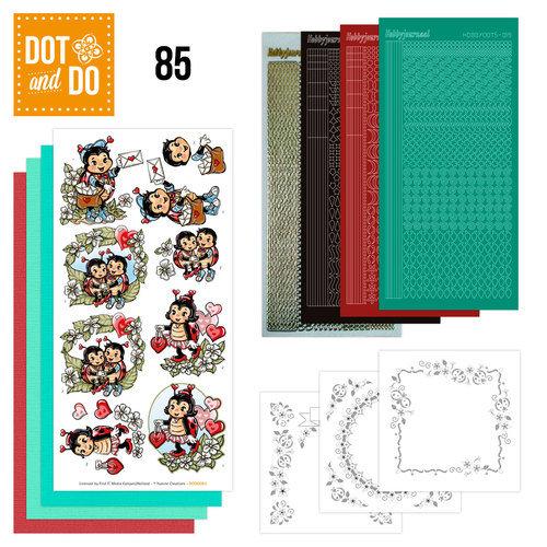 Dot en Do DODO085 - Dot and Do 85 - Lieveheersbeestjes