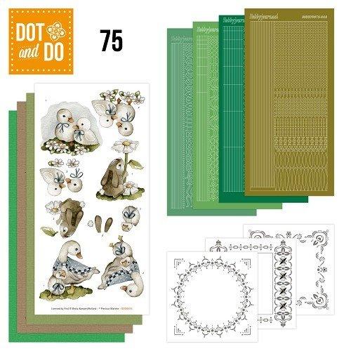 Dot en Do DODO075 - Dot and Do 75 - Spring Animals