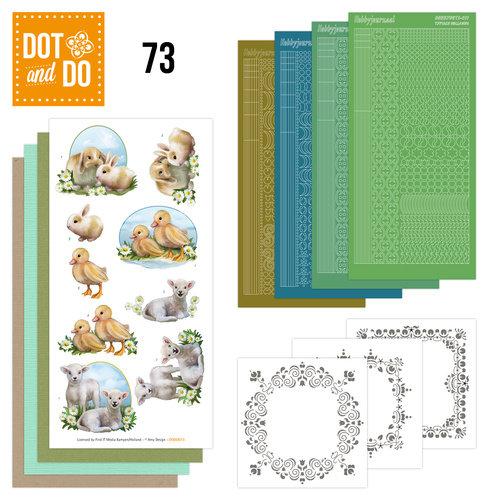 Dot en Do DODO073 - Dot and Do 73 - Young Animals