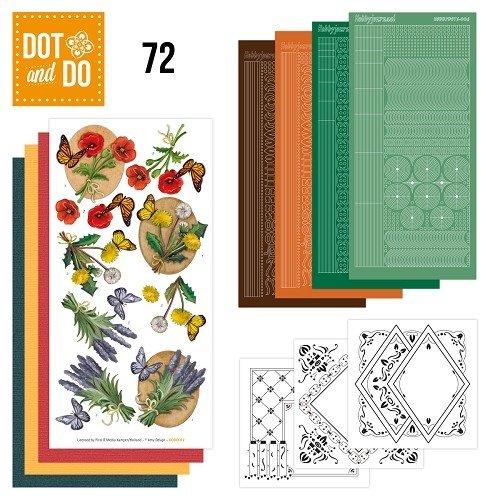Dot en Do DODO072 - Dot and Do 72 - Wild Flowers