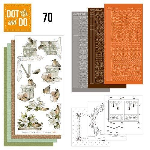 Dot en Do DODO070 - Dot and Do 70 - Snow Animals