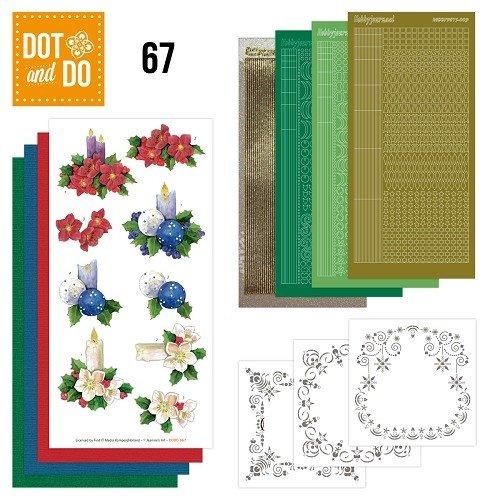 Dot en Do DODO067 - Dot and Do 67 - Christmas Candles