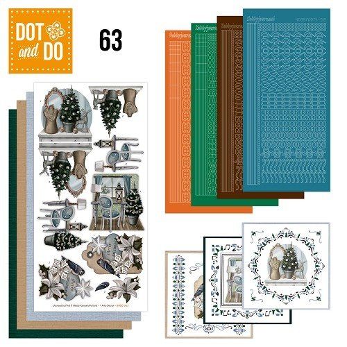 Dot en Do DODO063 - Dot and Do 63 - Brocante Kerst