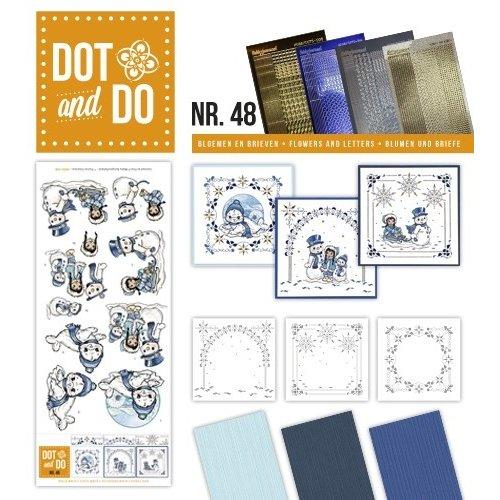 Dot en Do DODO048 - Dot and Do 48 - Playful winter