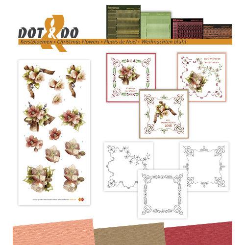 Dot en Do DODO036 - Dot and Do 36 - Kerstbloemen