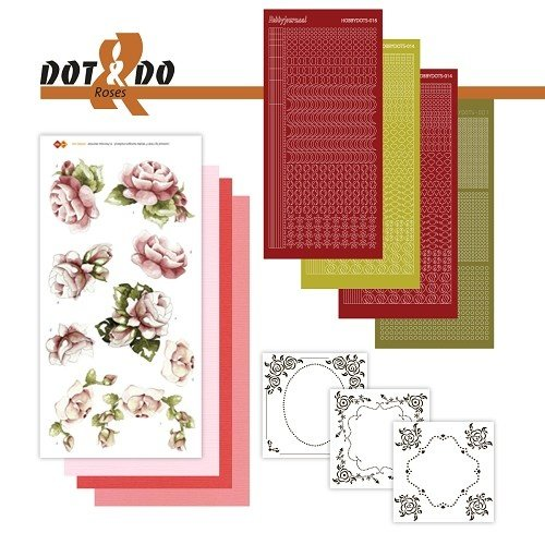 Dot en Do DODO027 - Dot and Do 27 - Roses
