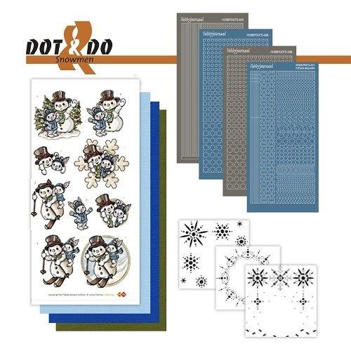 Dot en Do DODO024 - Dot and Do 24 - Snowmen