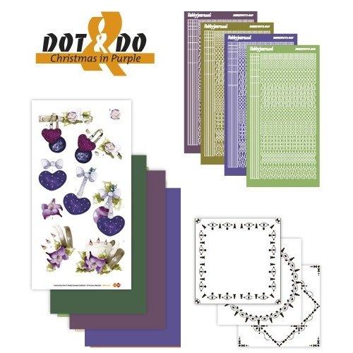 Dot en Do DODO016 - Dot and Do 16 - Christmas in Purple