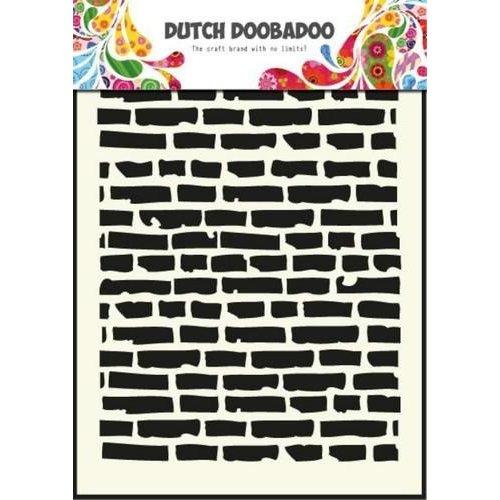 Dutch Doobadoo 470.715.002 - Dutch Doobadoo Dutch Mask Art stencil bricks - A5 15.002