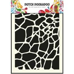 470.715.003 - Dutch Doobadoo Dutch Mask Art stencil giraffe - A5 15.003