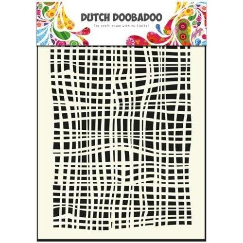 Dutch Doobadoo 470.715.007 - Dutch Doobadoo Dutch Mask Art stencil fabric - A5 15.007