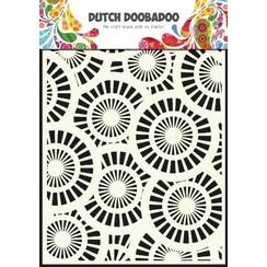 470.715.013 - Dutch Doobadoo Dutch Mask Art stencil Circles A5 15.013