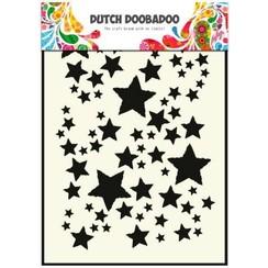 470.715.014 - Dutch Doobadoo Dutch Mask Art stencil Sterrenhemel A5 15.014