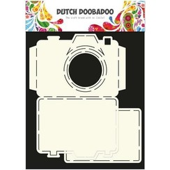 470.713.520 - Dutch Doobadoo Dutch Card Art stencil Camera A4 2x 11x14,5cm  13.520