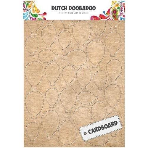 Dutch Doobadoo 472.309.010 - Dutch Doobadoo Dutch Cardboard art ballonnen A5 09.010