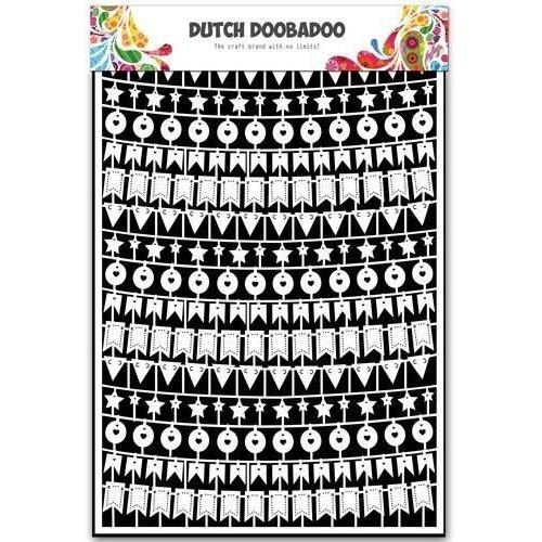 Dutch Doobadoo 472.948.030 - Dutch Doobadoo Dutch Paper Art party slingers A5 48.030