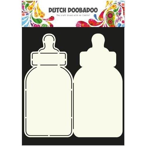 Dutch Doobadoo 470.713.582 - Dutch Doobadoo Dutch Card Art Stencil zuigfles A4 2x 21,5x10cm 13.582
