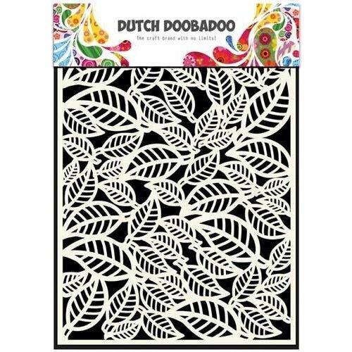 Dutch Doobadoo 470.715.042 - Dutch Doobadoo Dutch Mask Art stencil bladeren  A5 15.042