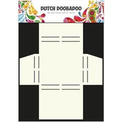 470.713.017 - Dutch Doobadoo Dutch Box Art stencil Merci A4 13.017