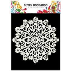 470.715.504 - Dutch Doobadoo Dutch Mask Art stencil cirkel A5 15.504