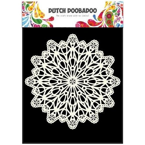 Dutch Doobadoo 470.715.504 - Dutch Doobadoo Dutch Mask Art stencil cirkel A5 15.504