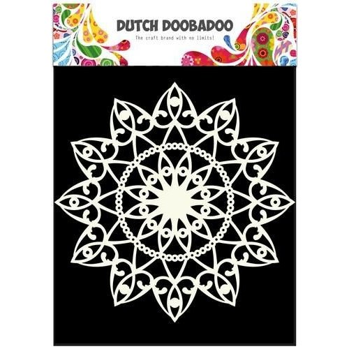 Dutch Doobadoo 470.715.505 - Dutch Doobadoo Dutch Mask Art stencil cirkel A4 15.505